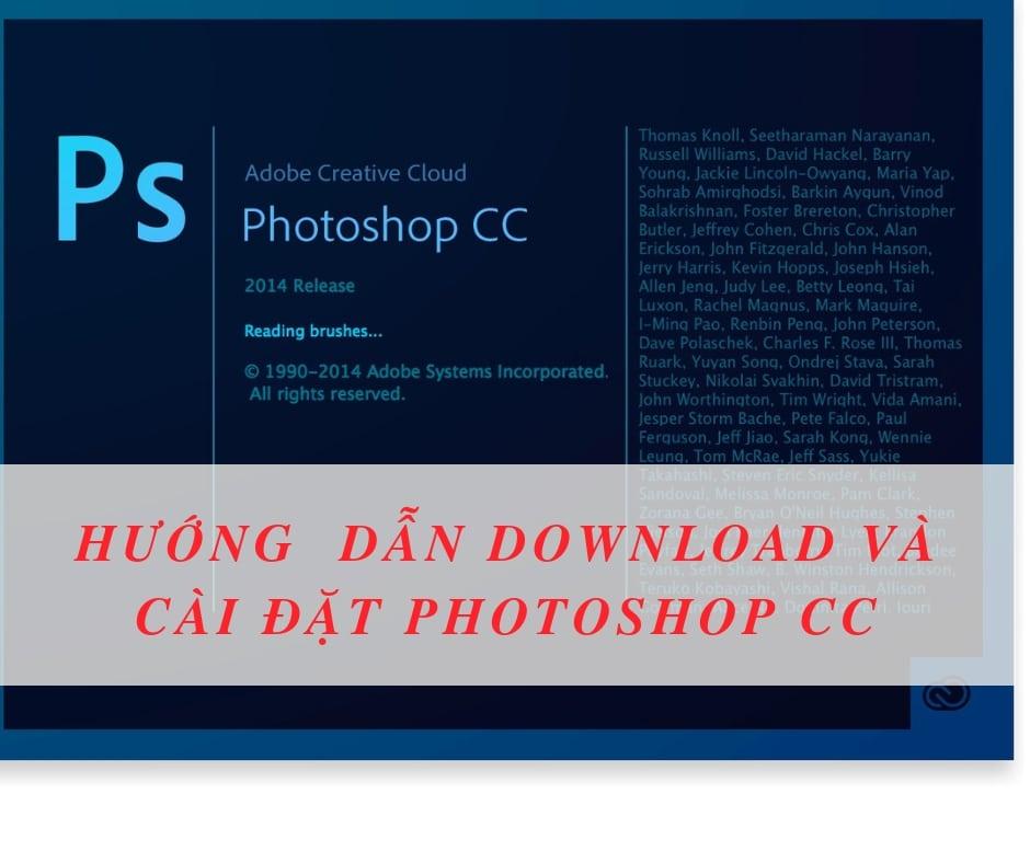 Hướng dẫn download và cài đặt Photoshop cc 2014