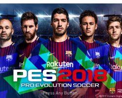 Download Game Pes 2018 PC Full crack miễn phí