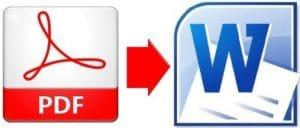 Hướng dẫn chuyển file PDF to WORD không lỗi font tiếng việt