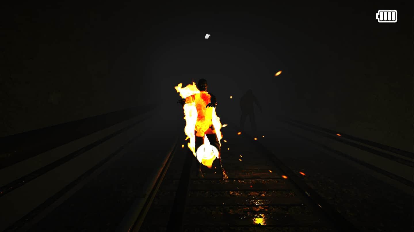 Hiệu ứng zombie bị cháy trong game die in the dark