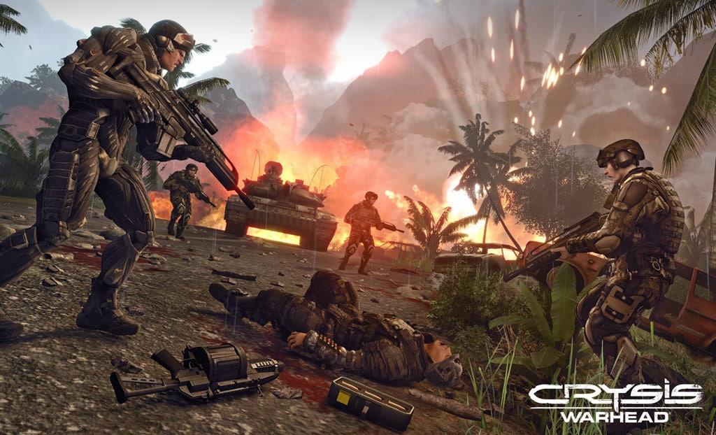 Một số hình ảnh trong game Crysis Warhead