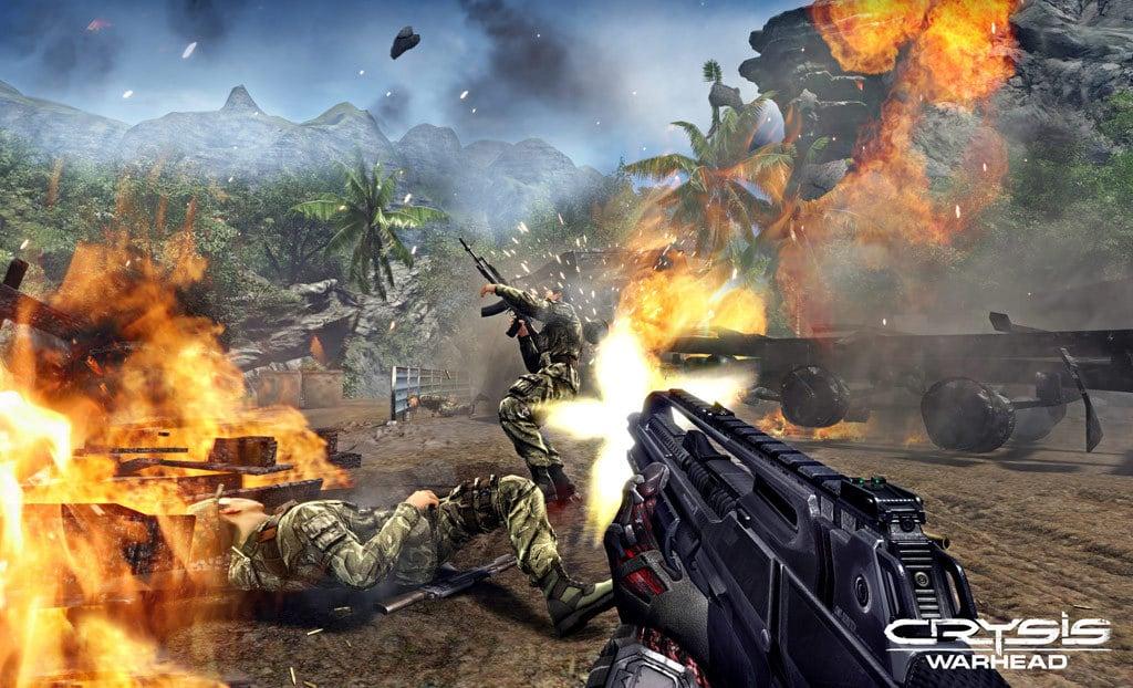 Cuộc chiến khóc liệt trong game Crysis Warhead