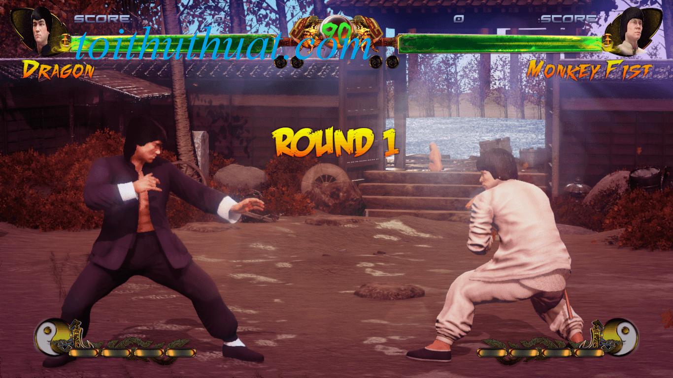 Hỉnh ảnh trong game Shaolin vs Wutang