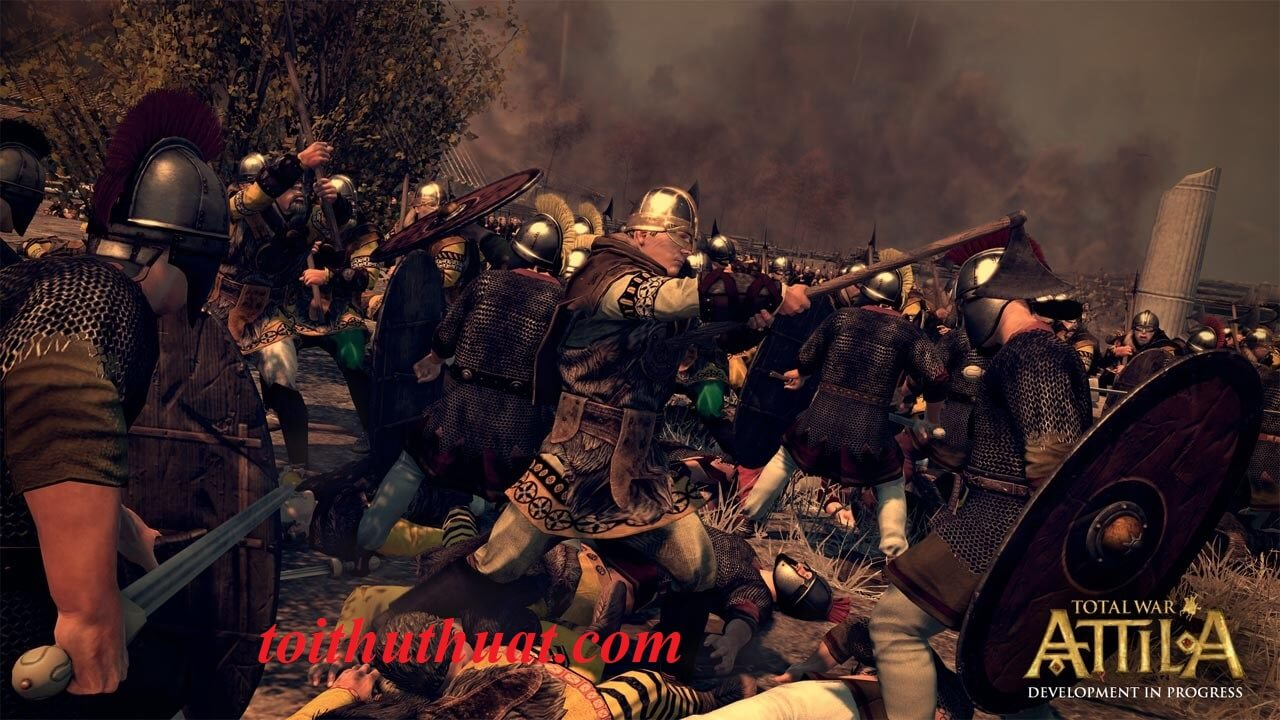 Game chiến thuật Total War: Attila hay nhất