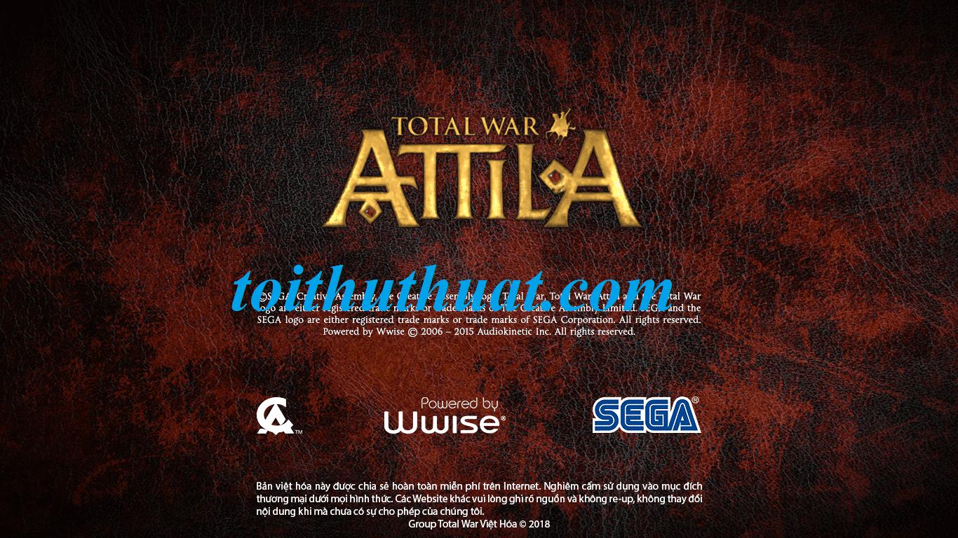 Download game Total War: Attila (Link fshare)