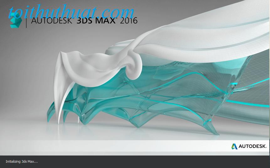 Autodesk 3ds max 2016 full cho máy tính