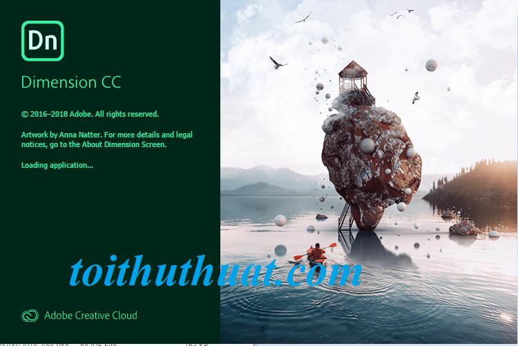 Adobe Dimension CC 2019 v2.0 full hướng dẫn cài đặt cho anh em