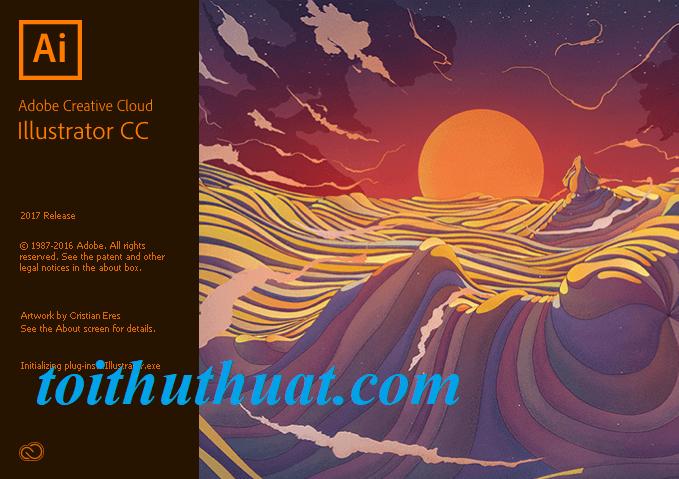 Adobe Illustrator cc 2017 full crack tại Toithuthuat.com