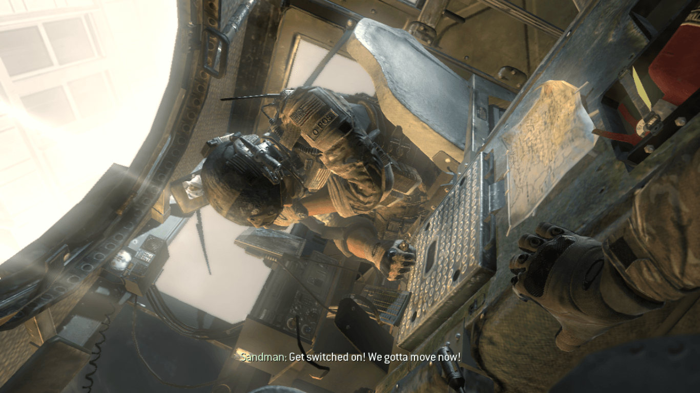 Phần giới thiệu trong game Call of Duty Modern Warfare 3