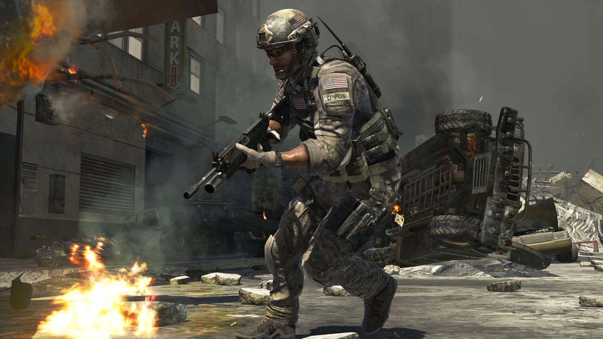 Hình ảnh trong game Call of Duty Modern Warfare 3