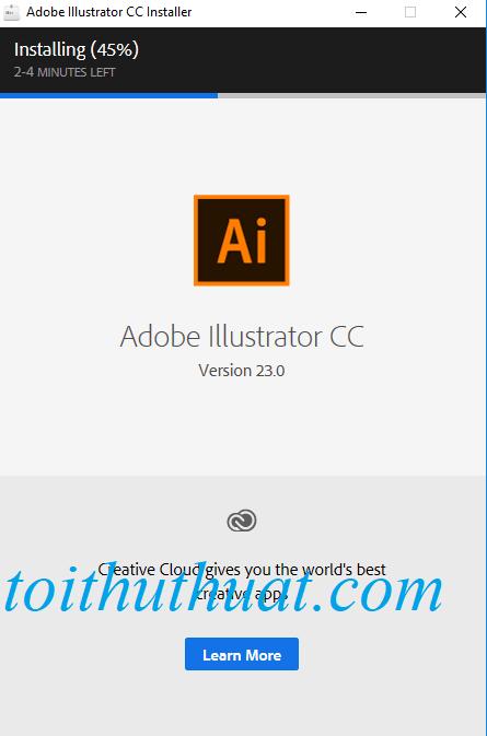 Phần mềm cài đặt nhanh lắm, chỉ cần 5 phút thôi hehe