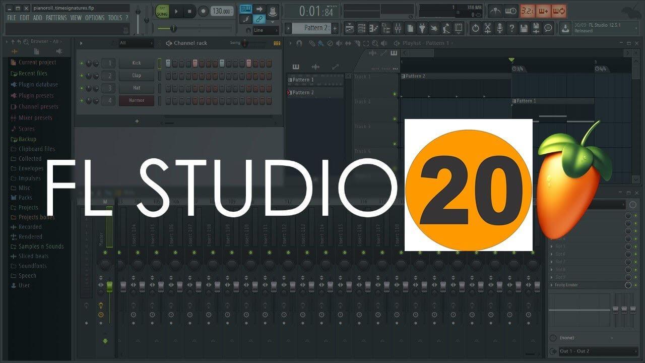 Hướng dẫn download và cài đặt FL Studio 20.0.5 full cr@ck