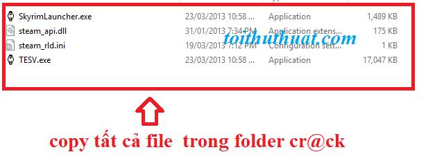 Copy tất cả file trong thư mục cr@ck