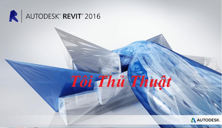 Phần mềm Autodesk Revit 2016