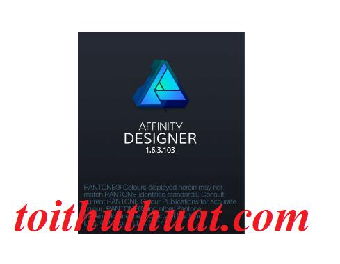 Download Affinity Designer 1.6.3 full cr@ck