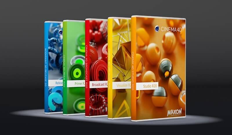 Download Maxon Cinema 4D Studio R20.026 Full Key