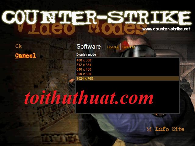 FIX LỖI KHI CHƠI GAME Half Life 1.1