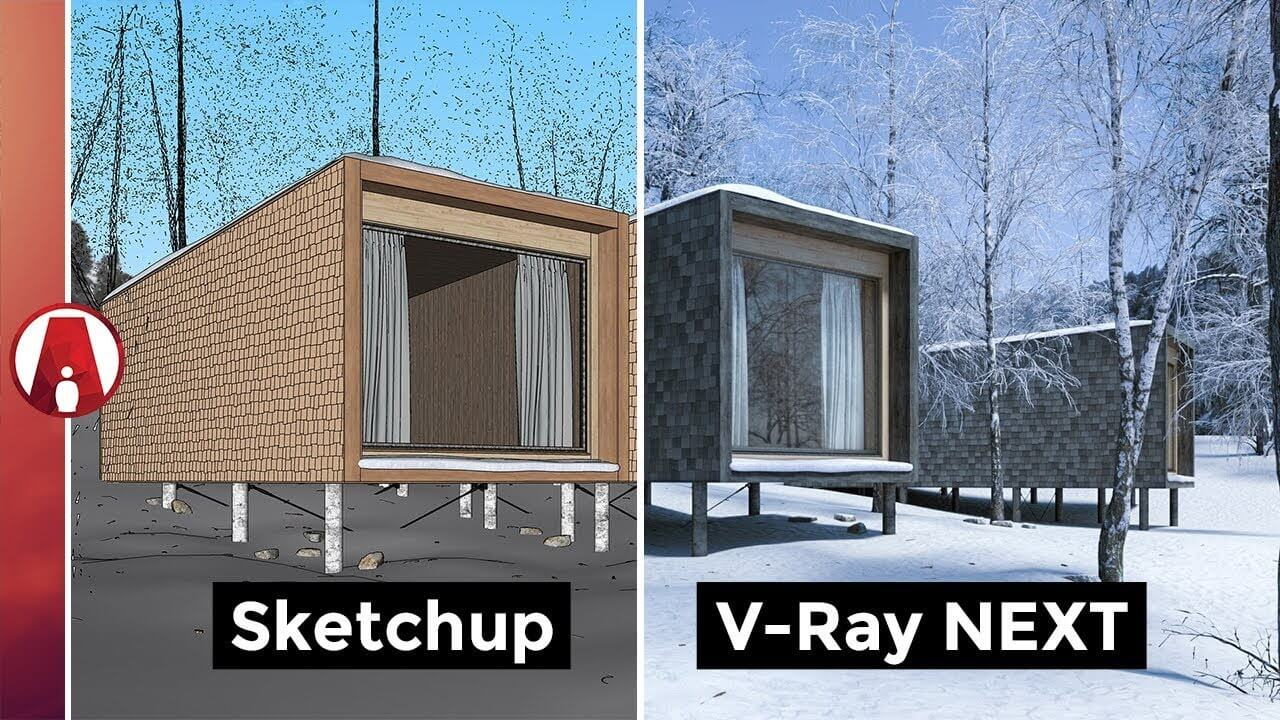 Download vray 4.0 cho Sketchup Pro 2015, 2016, 2017, 2018, 2019