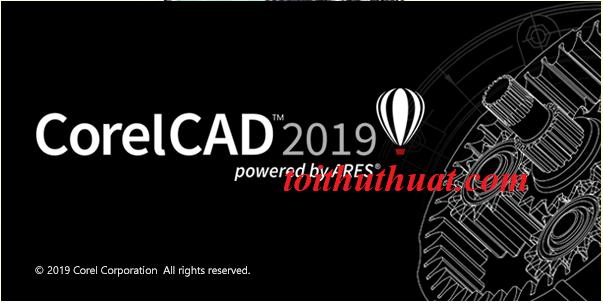 Tham khảo cấu hình yêu cầu CorelCAD 2019