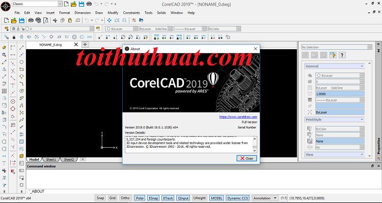 Activate corelcad 2019 phiên bản mới cực đơn giản
