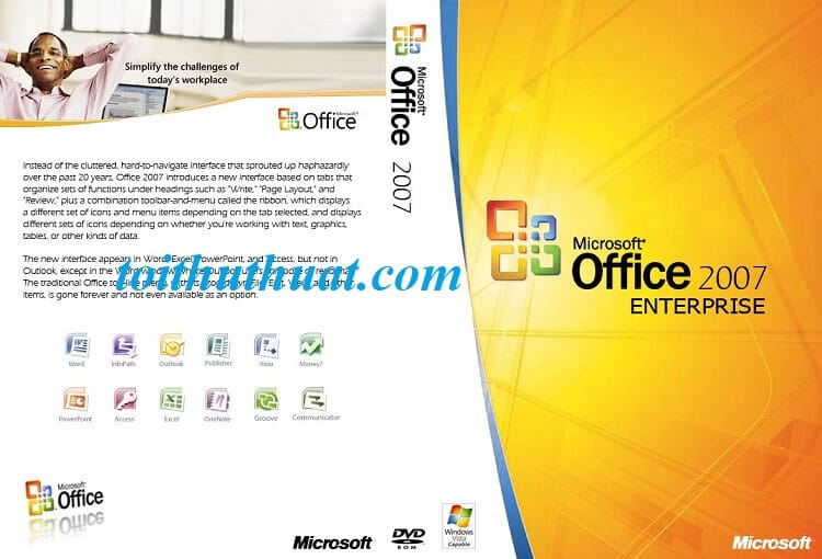 Tải Microsoft Office 2007 Full key