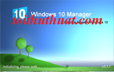 Phần mềm Windows 10 Manager v3