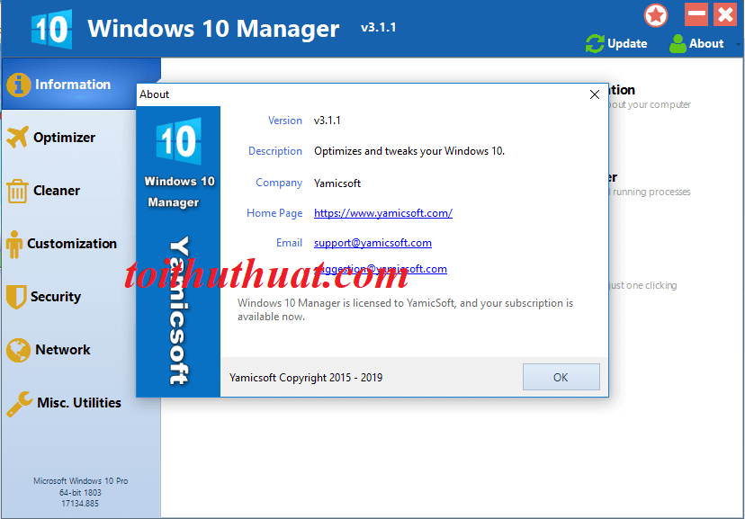 Activate Windows 10 Manager cực đơn giản