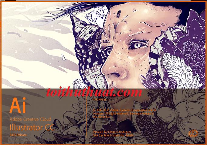 Tải Adobe illustrator CC 2015 FULL và hướng dẫn chi tiết cài đặt