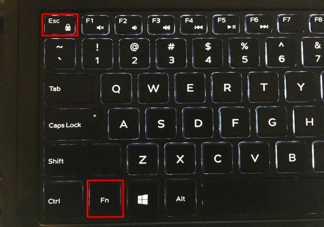 Bật/tắt phím chức năng trên bàn phím laptop Dell, Acer, HP, Asus, Lenovo..