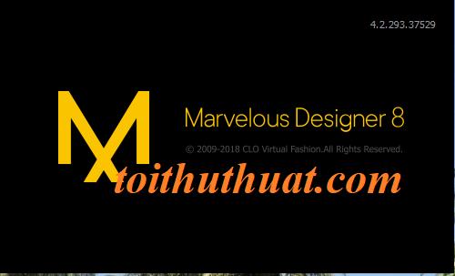 Cấu hình tối thiểu của phần mềm marvelous designer 8