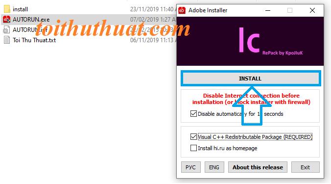 Hướng dẫn chi tiết cài đặt Adobe InCopy CC 2020