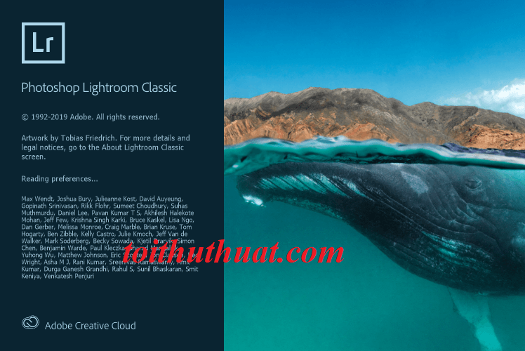 Tính năng Photoshop Lightroom Classic CC 2020