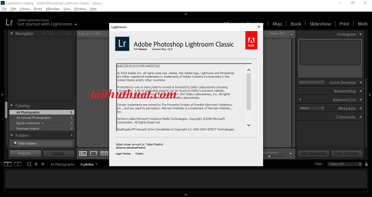 Tải Photoshop Lightroom CC 2020 full cr@ck
