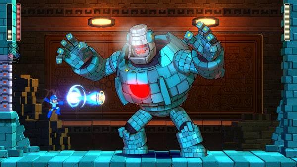 Tiếp tục thêm hình ảnh tiếp trong game offline megaman