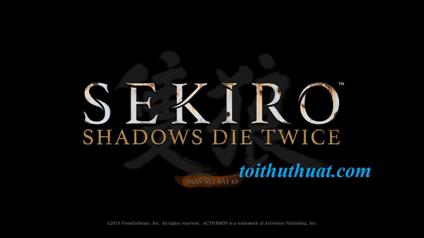 Tải và cài đặt game Sekiro Shadows Die Twice