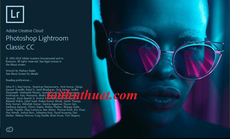 Hướng dẫn và cài đặt Lightroom Classic CC 2018 miễn phí