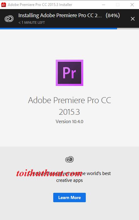 Hướng dẫn cài đặt Pr Pro CC 2015.3 mới nhất