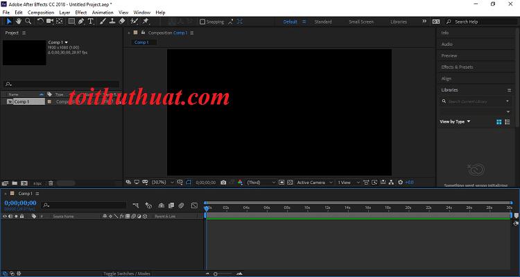 Tính năng của Adobe After Effects CC