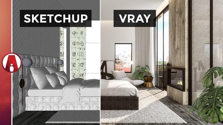 Cấu hình & tính năng mới trong phiên bản Vray 4.2 cho sketchup 2016, 2017, 2018, 2019, 2020