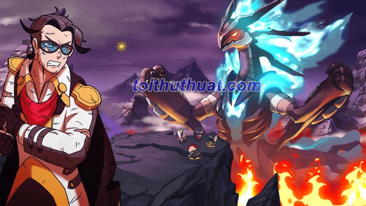 Hình ảnh khi vừa vào game Nexomon: Extinction
