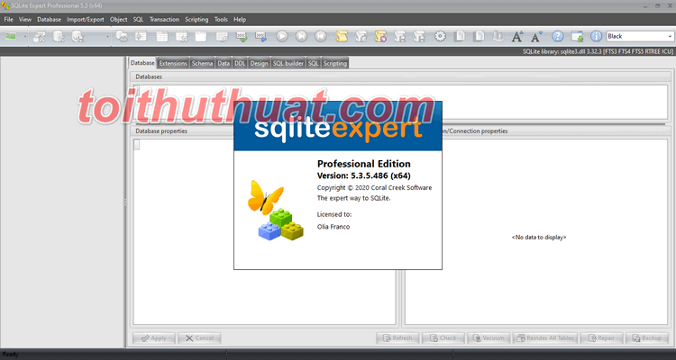 Tải SQLite Expert Professional v5.3.5.486 Miễn Phí