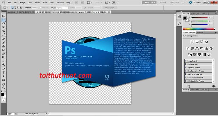 Giới thiệu và hướng dẫn cài đặt Adobe Photoshop CS5, bạn tham khảo nhé
