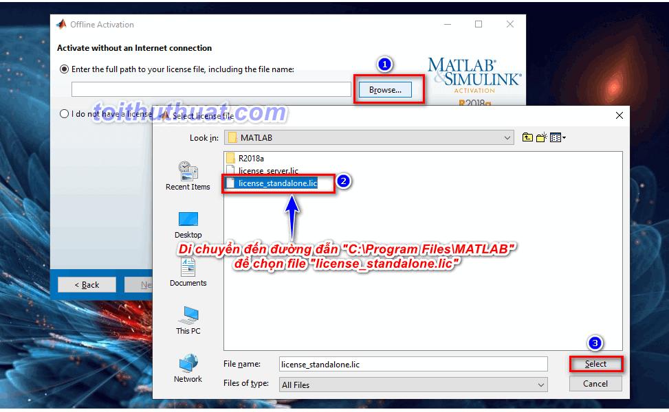 Hướng dẫn kích hoạt bản quyền MatLab