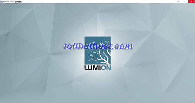 Hướng dẫn chi tiết tải & cài dặt Lumion 10.0 Pro