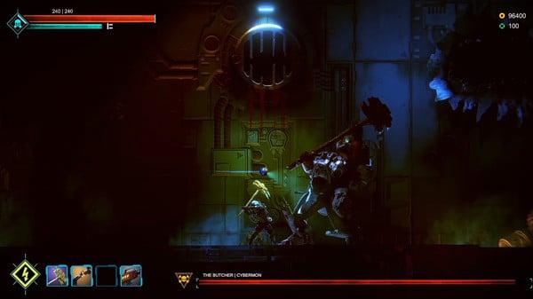 PK với boss trong game Dark Light khá căng não
