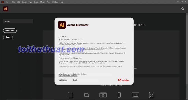 Tổng hợp tính năng và hướng dẫn tải - cài đặt illustrator CC 2021