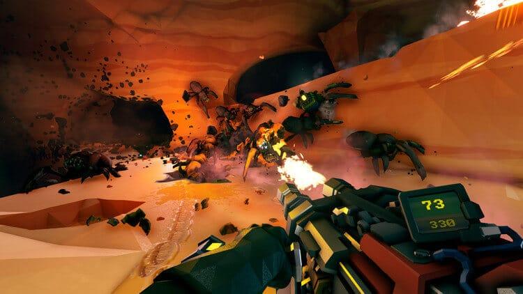 Đồ họa trong game Deep Rock Galactic quá đẹp đúng không mọi người