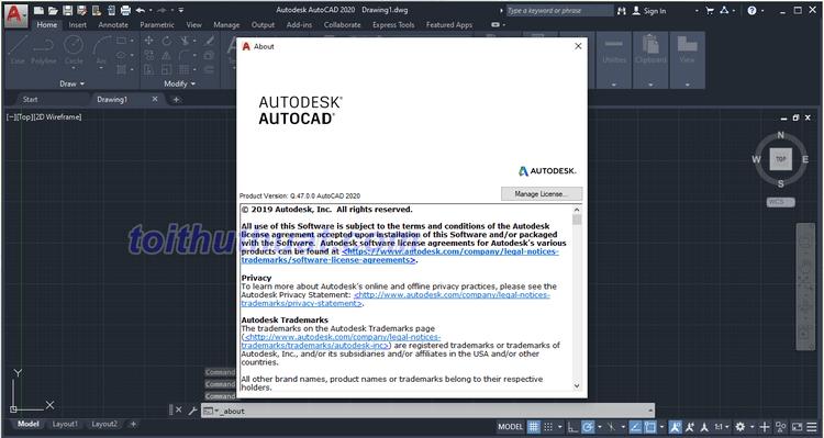 Hướng dẫn download & cài đặt AutoCAD 2020