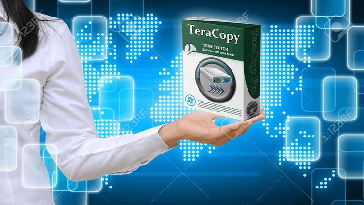 Download TeraCopy - Sao chép copy dữ liệu trên máy tính