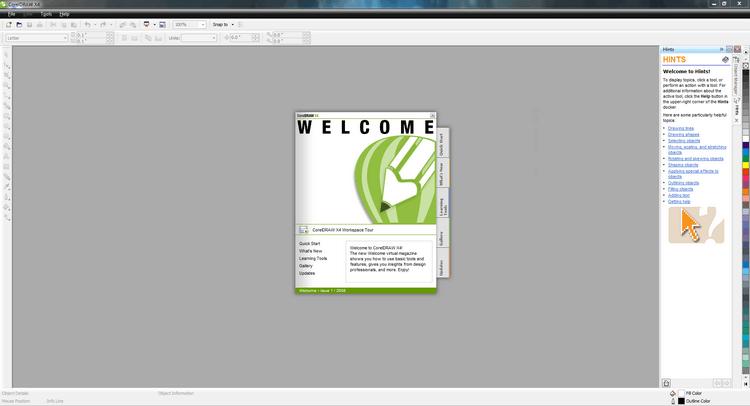 Download và cài đặt CorelDRAW X4 miễn phí